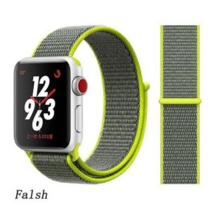 ❤️NEW Neon Yellow Sport Loop Strap For Apple Watch